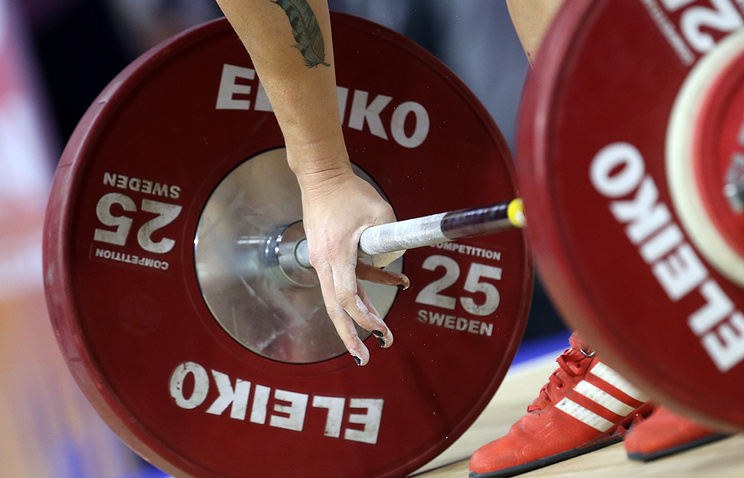 Анастасия Романова— чемпионка Европы потяжёлой атлетике вкатегории до69кг