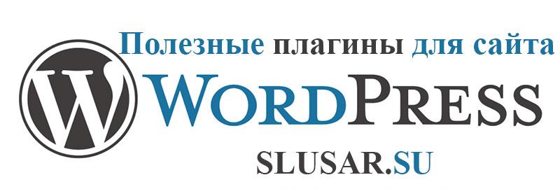Какие плагины необходимы для сайта wordpress