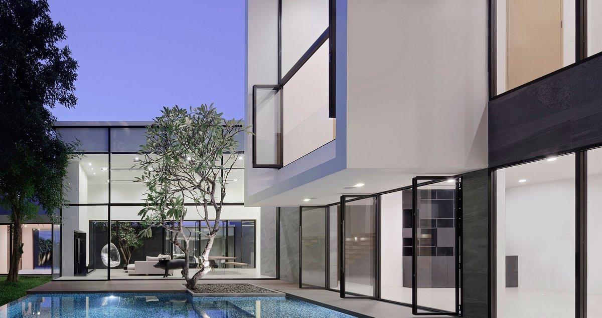 LSR113, Ayutt and Associates Design, планировка частного дома фото, особняк в Таиланде, дома миллионеров фото, особняк в Бангкоке фото