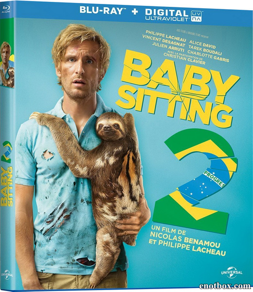 Superнянь 2 / Babysitting 2 (2015/BDRip/HDRip)
