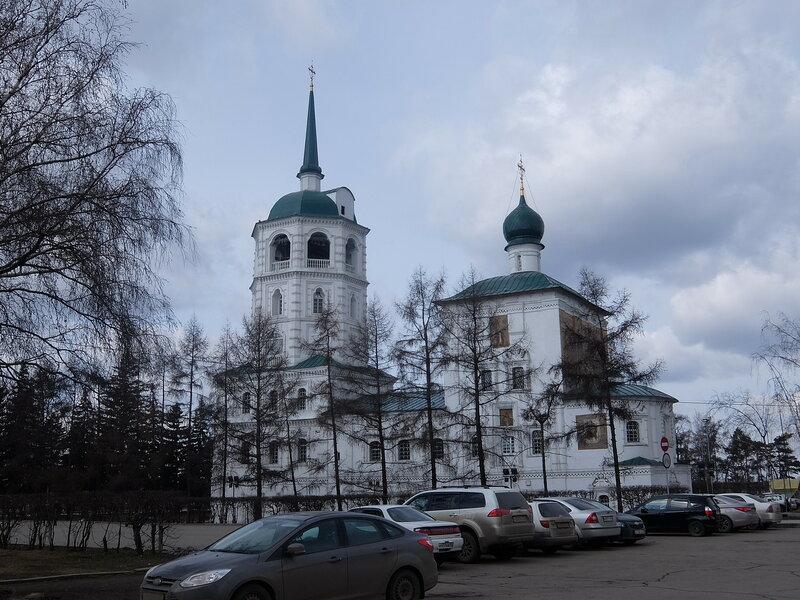 Иркутск - Спасская церковь
