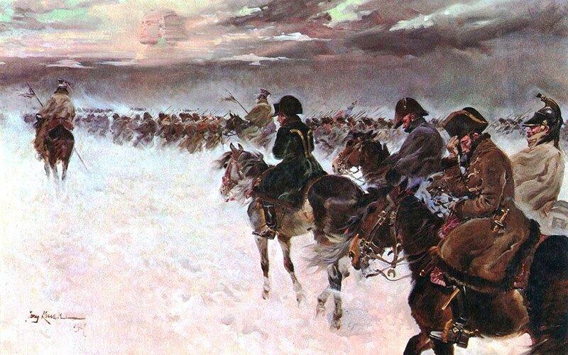 Отступление Наполеона из России. Ежи КОССАК.jpg