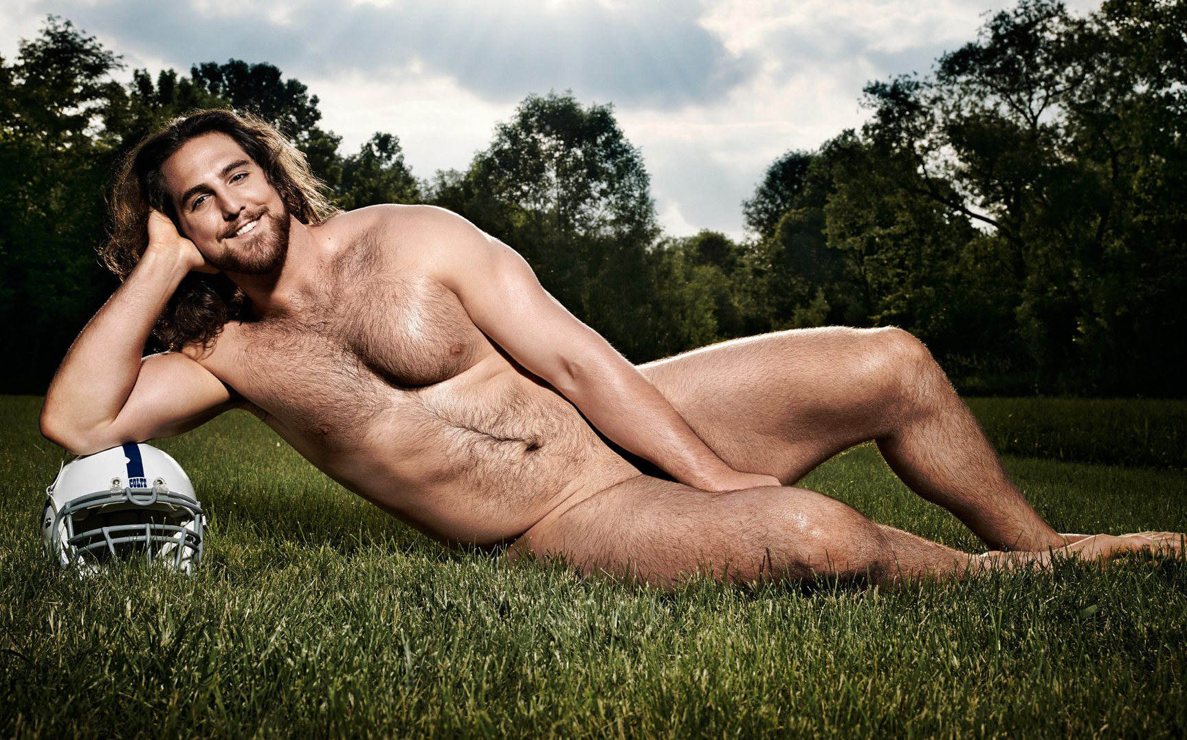 ESPN Magazine The Body Issue 2015 - Indianapolis Colts offensive line - Культ тела журнала ESPN
