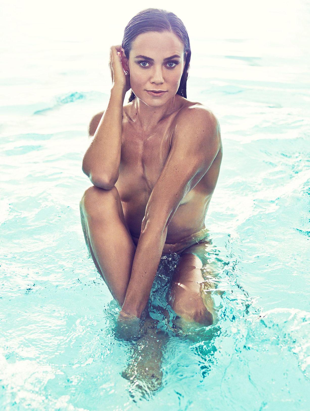 ESPN Magazine The Body Issue 2015 - Natalie Coughlin / Натали Коглин - Культ тела журнала ESPN
