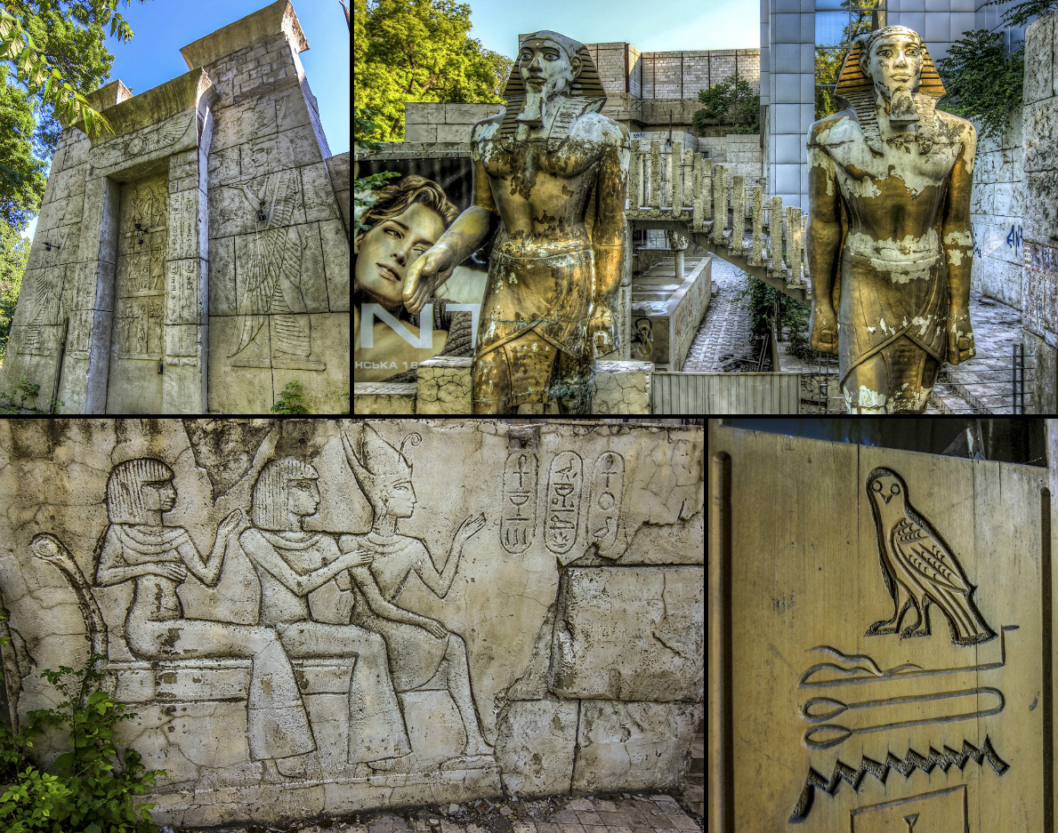 Сенсация! В Одессе обнаружен ранее неизвестный древнеегипетский храм!