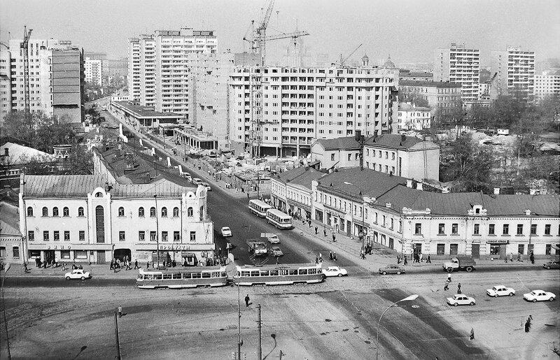 448152 Таганская ул.  Площадь Абельмановской Заставы нач. 1980-х lion78.jpg