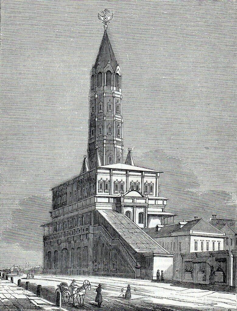 463442 Сухарева башня нач. 1840-х неизв. художник.jpg