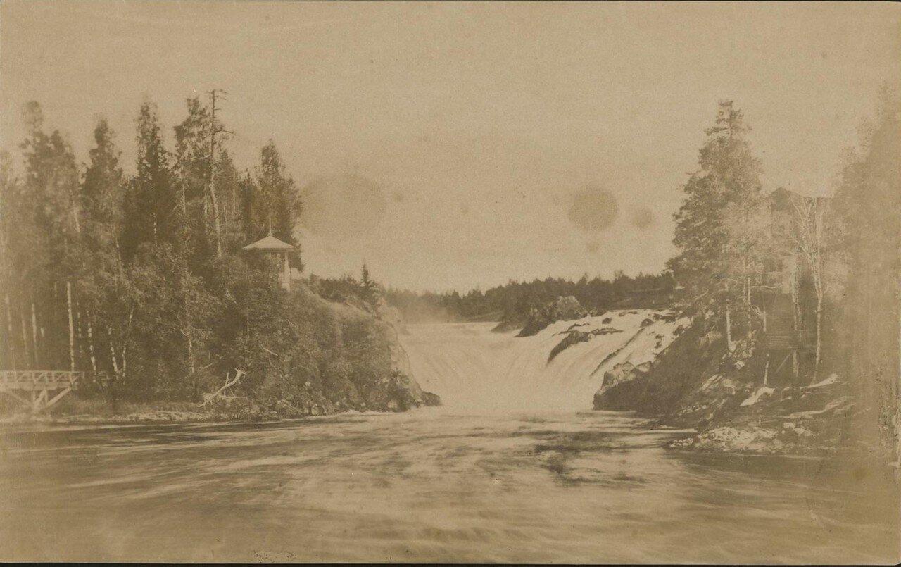 Окрестности Петрозаводска. Водопад Кивач