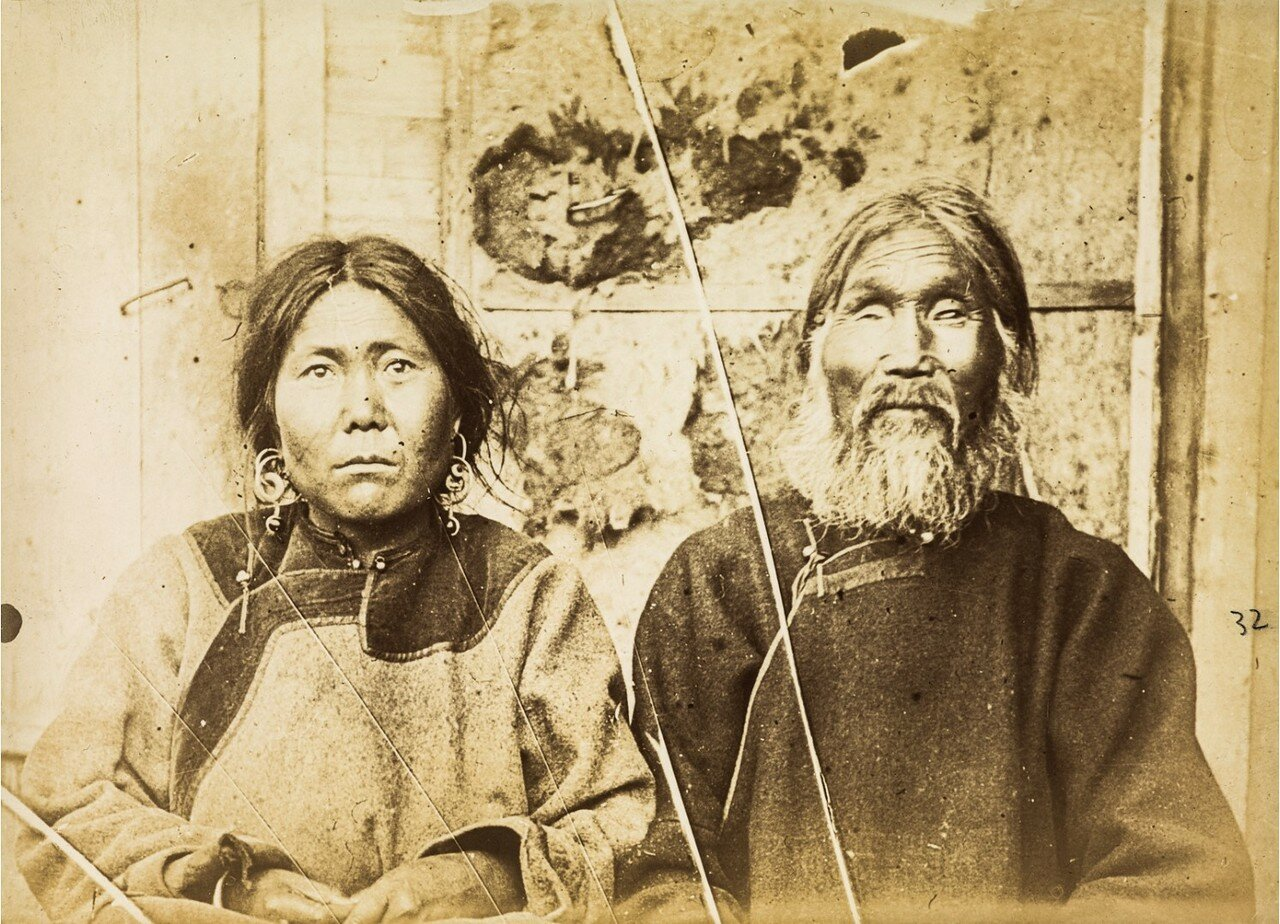 Мужчина и женщина ольчи