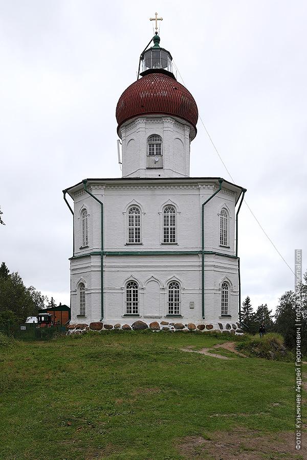 Соловки Секирная гора церковь Вознесения Господня