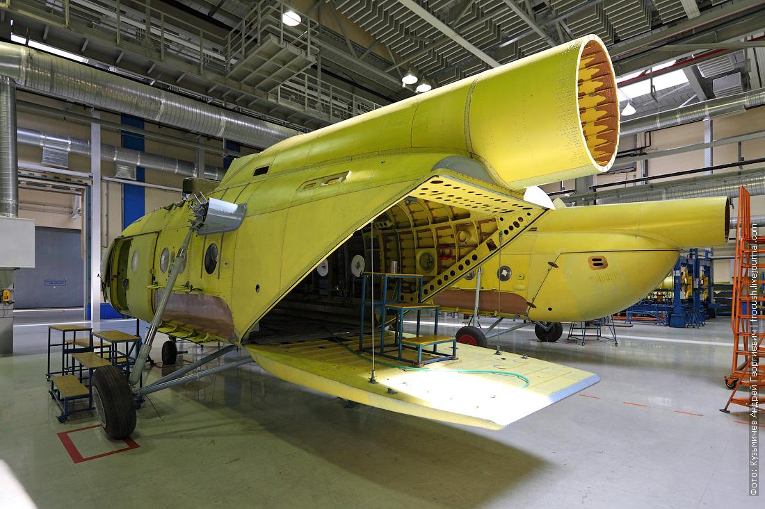 Ми-17 аппарель Ми-8 створки грузового отсека