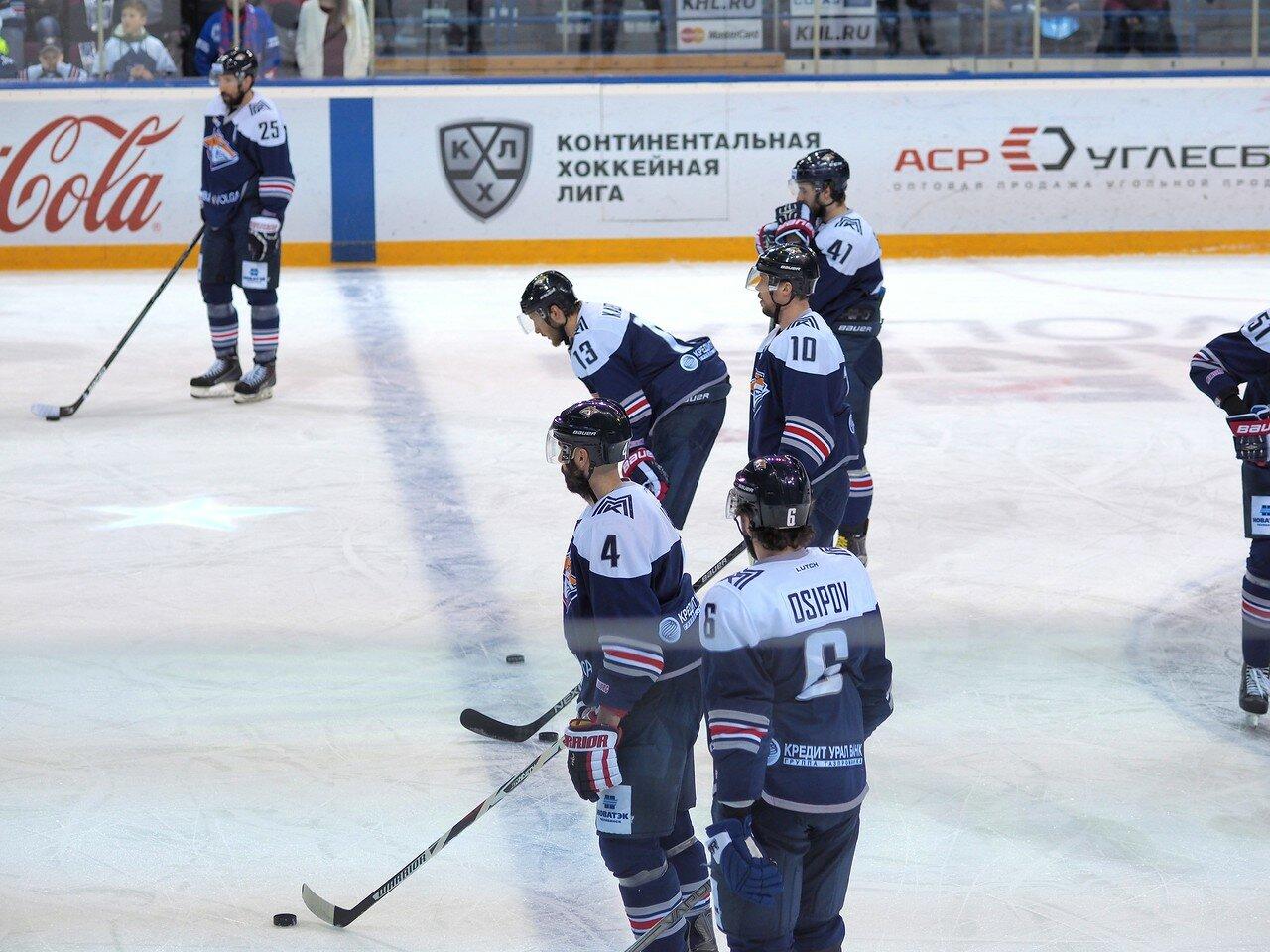 19Плей-офф 2016 Восток Финал Металлург - Салават Юлаев 31.03.2016