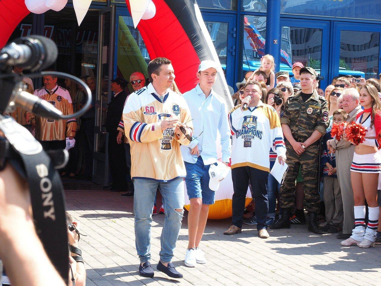 80Церемония чествования команды Металлург27.05.2016