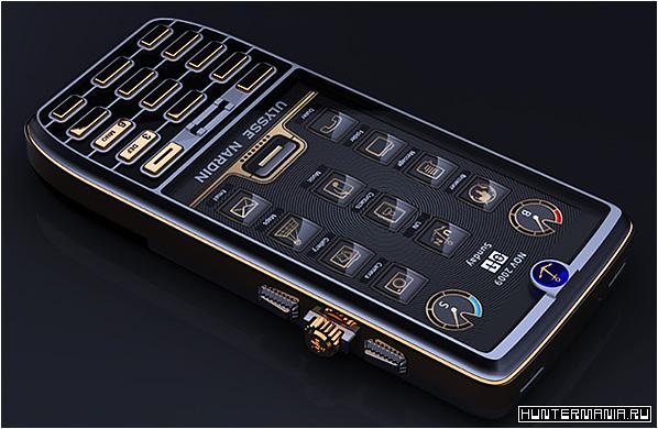 Роскошный смартфон Ulysse Nardin Chairman - элитная модель от легендарного часового бренда