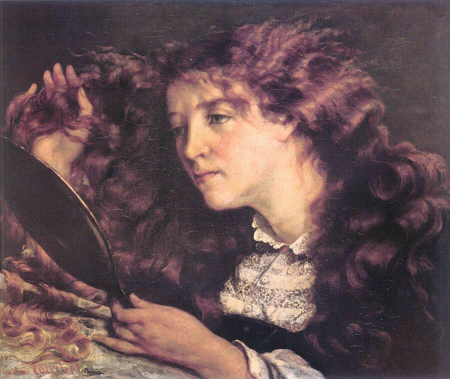 Гюстав Курбе: Портрет прекрасной ирландской девушки
