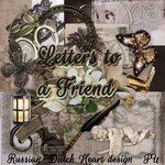 """Скрап набор """"RDH Letters to a Friend"""""""