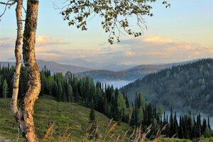 Августовское утро в горах