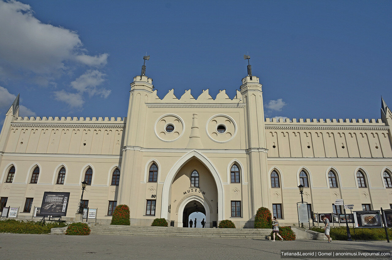 Люблинской замок. Польша