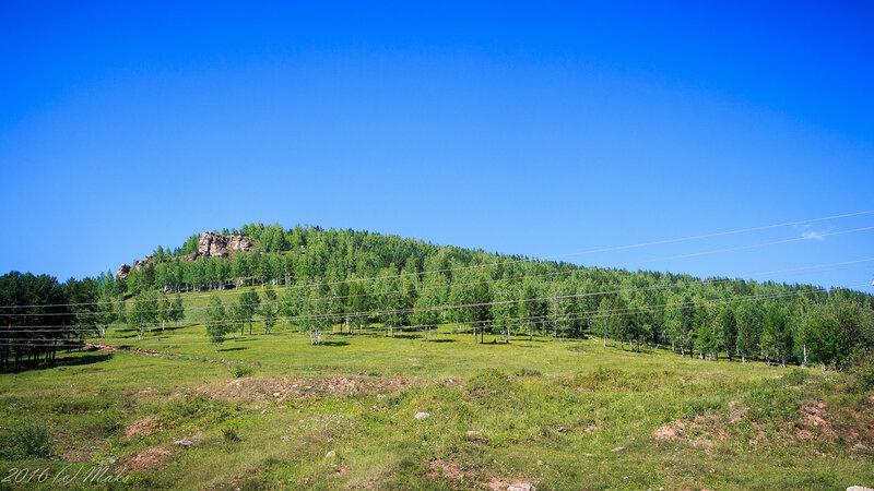 Скалы у Усть-Кута