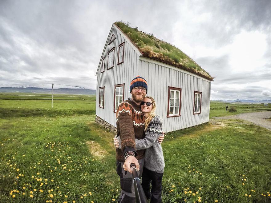 14 Увидели этот удивительный исландский домик
