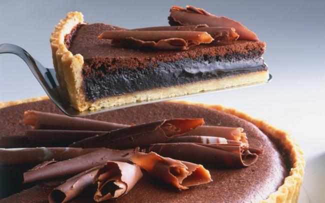 3. Австралия — французский шелковый торт 15 шт. печенья «Орео» (или шоколадного печенья) 5 ст. л. ра