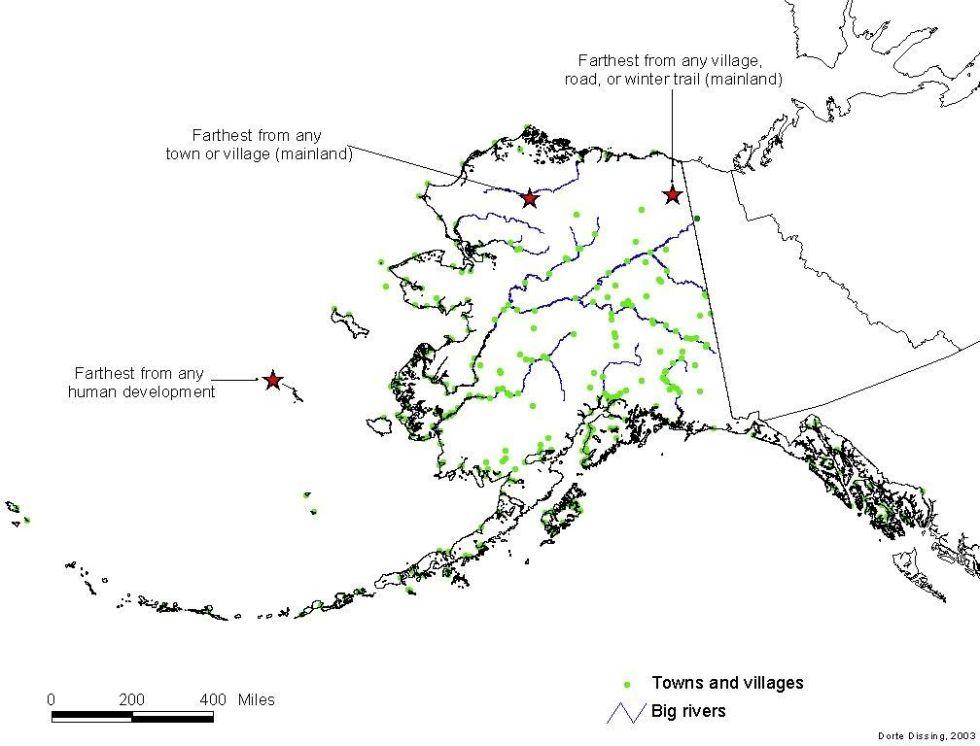 Аляска Самый большой и самый пустой штат Америки. Островок Сент-Мэтью, входящий в состав Аляски, нах
