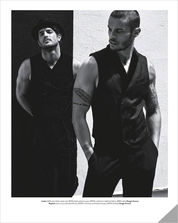 Мужчины-супермодели в GQ Australia