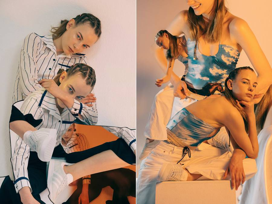 Коллажный лукбук коллекции Adidas Gazelle 2016 (15 фото)