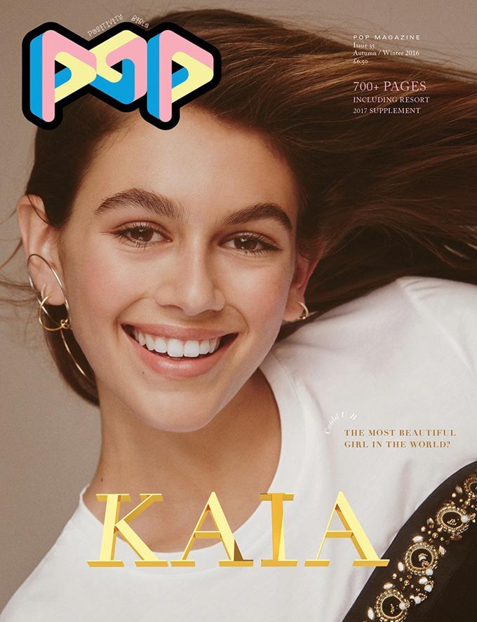 Кайя Гербер в POP Magazine