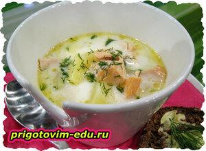Суп из хека «Молочный»
