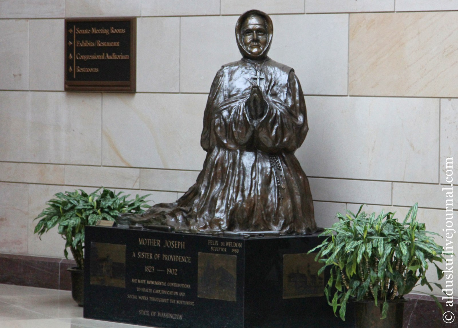 Матушка Джозеф (1823–1902) Работа Феликса В. де Вельдон (1980)