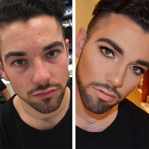 Мужики осваивают косметику
