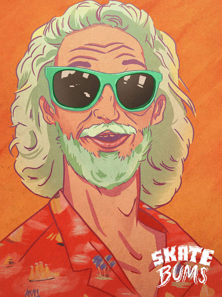 Skate Bums: Illustrations by Jono Yuen
