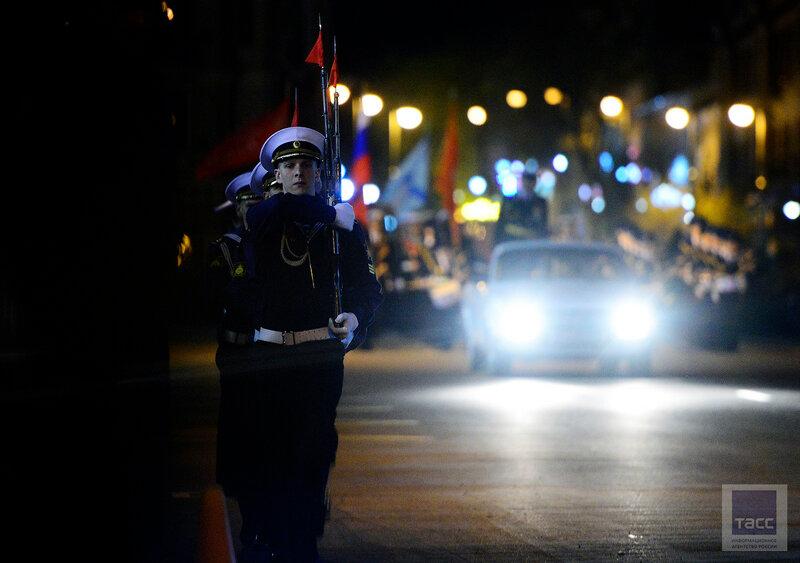 Генеральная репетиция парада Победы во Владивостоке