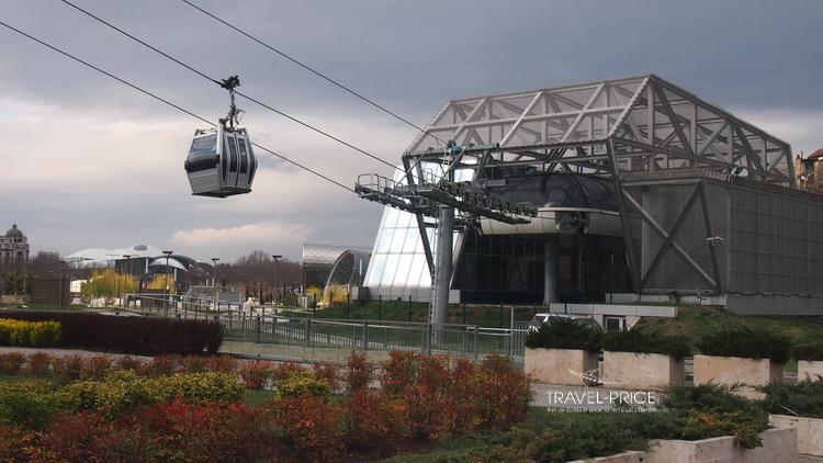 канатка в Тбилиси