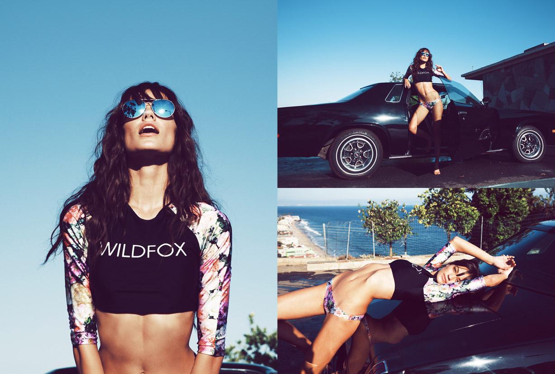 Paige Watkins & Keilani Asmus - Wildfox Swim | Pacific Coast Dreams | Cruise & Spring 2016