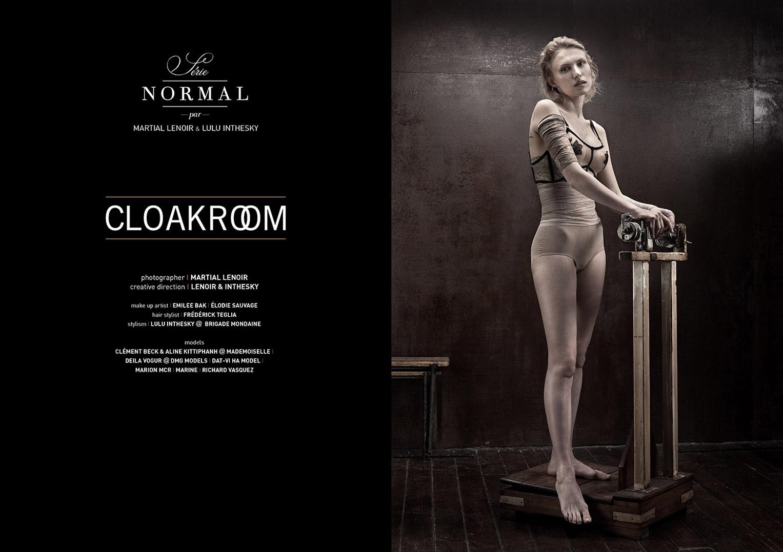 Aliane Uwimana Gatabazi, Mariame Sakanoko, Deborah Kadillac Ndimanyi, Aline Kittiphanh - Cloak Room by Martial Lenoir / Normal Magazine