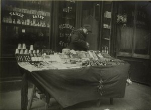 1915. Восточный вокзал. Мелкие торговцы