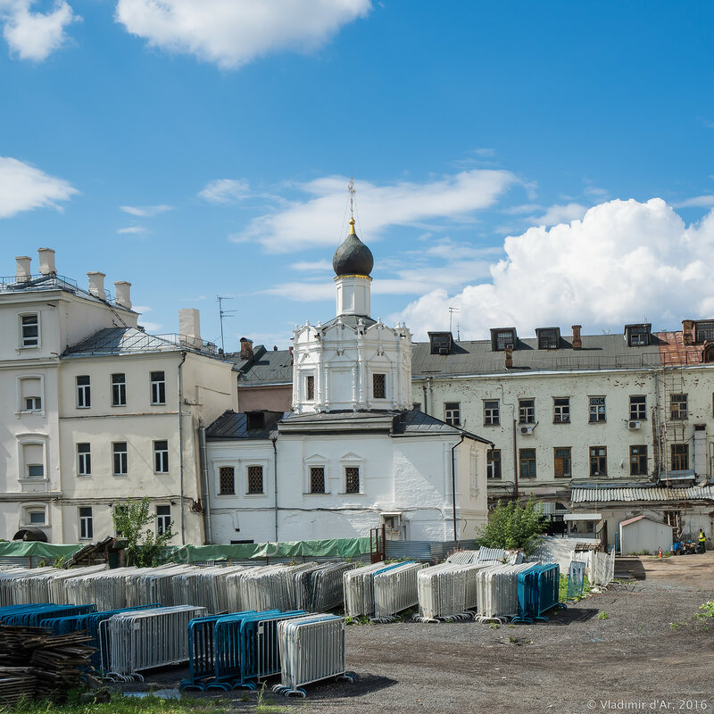 Храм Успения Пресвятой Богородицы на Чижевском подворье