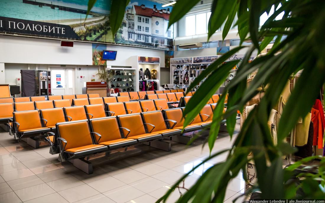 Все прелести маленького аэропорта
