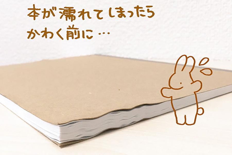 Как высушить мокрые документы - лайфхак из Японии