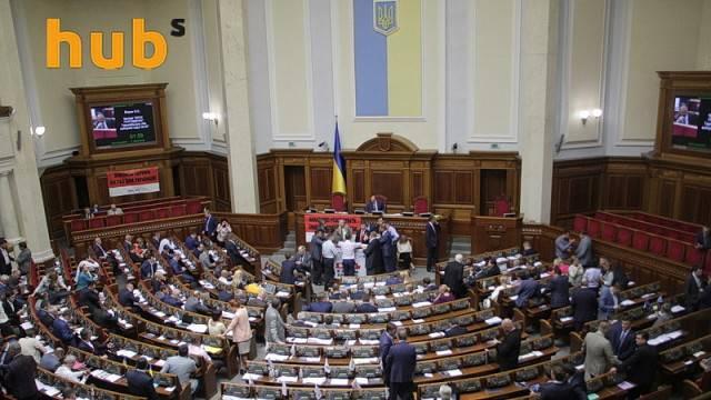 Рада вновь не смогла включить в повестку дня законопроект о спецконфискации