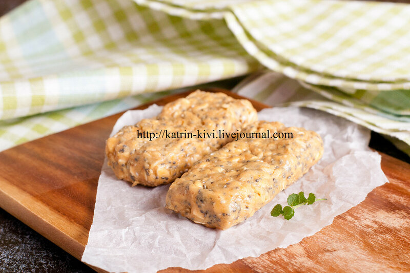 oat bars with chia