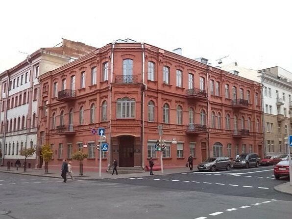 здание Союза кинематографистов в Беларуси