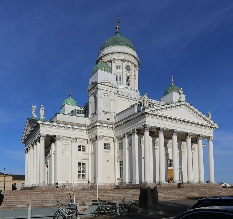 Helsinki. The Cathedral of St. Nicholas (Helsingin tuomiokirkko)