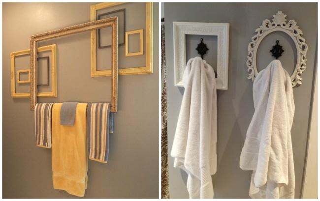 Оказывается, вешалки для полотенец ихалатов могут оживить интерьер ванной комнаты. Как ихсделать,