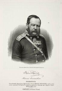 Николай Степанович Рыкачев, подполковник Драгунского Е.И.В. Великого Князя Николая Николаевича полка