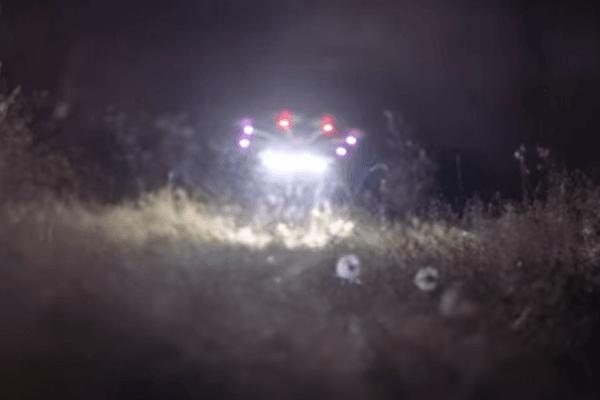 НаYouTube появилось видео светящейся «летающей тарелки»