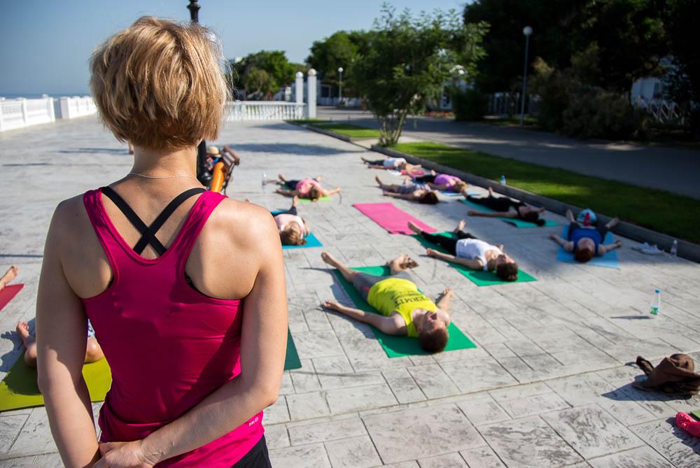 День йоги в Анапе