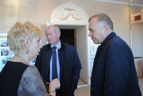 Министр культуры в Куйбышеве